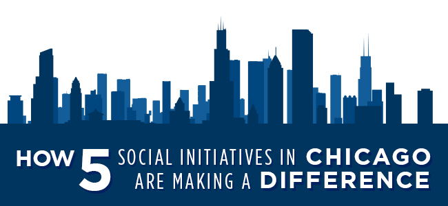 How 5 Social Initiatives in Chicago Are Making a Difference - header image