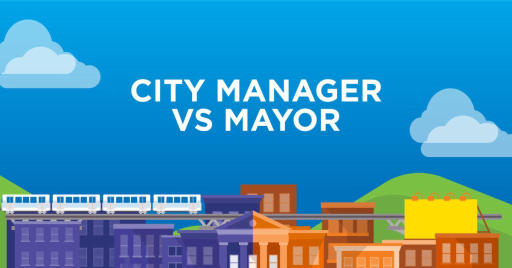 City Manager vs Mayor - AU Online - FB